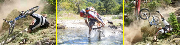 The best mountain bike tip helps you to keep from crashing or falling in a creek