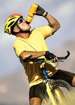 Stay hydrated while on the trails, try to drink every 15 minutes to avoid dehydration
