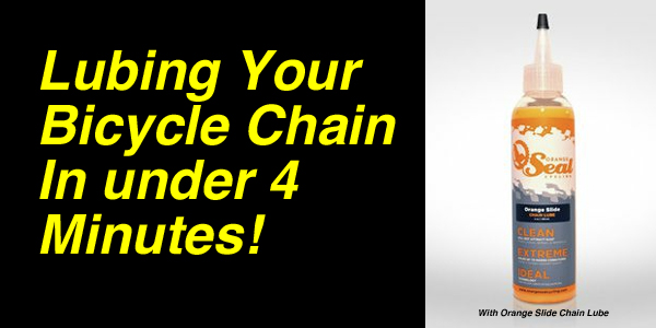 Post image for Lubing Your Bicycle Chain In Under 4 Minutes!